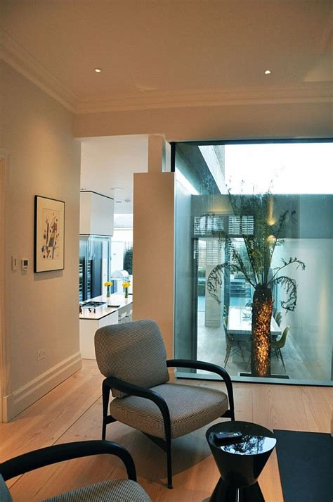 Extension to an Edwardian semi detached house with a