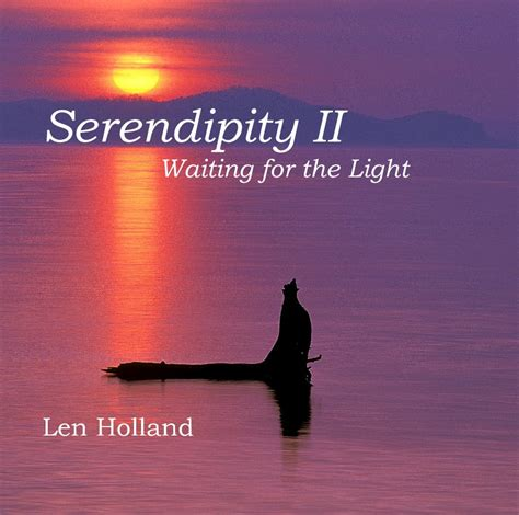 waiting for the light serendipity ii waiting for the light by len
