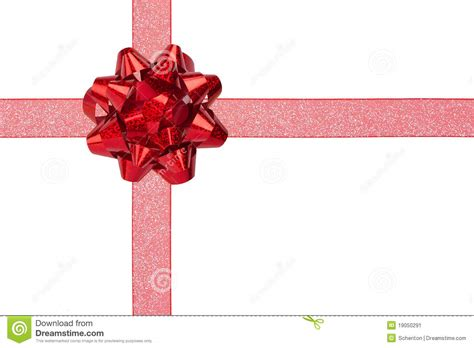 gift and wrap gift wrap with sparkly ribbon and bow stock image