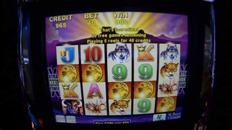 buffalo penny slot machine youtube