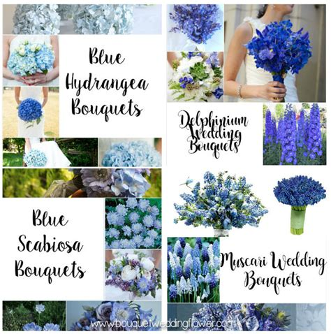 Blue Flowers For Wedding by Bouquet Wedding Flower Bouquets And Wedding Flowers