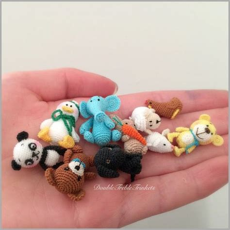 tiny knitted animals patterns 2028 best crocheted animals images on