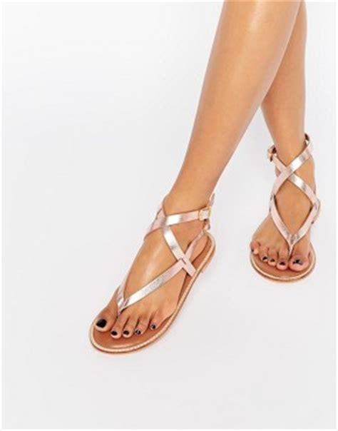 Alessa Khaki Heel flache sandalen r 246 mer sandalen gold und silberfarbene