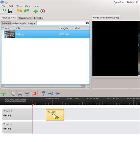 tutorial openshot linux create a time lapse video in linux using openshot