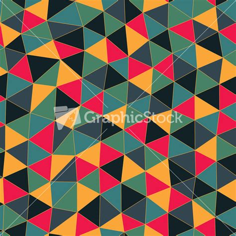 triangle mosaic pattern geometric pattern texture with triangles mosaic abstract