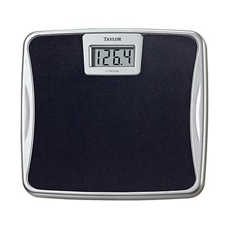 taylor digital bathroom scale taylor digital bathroom scale black by office depot
