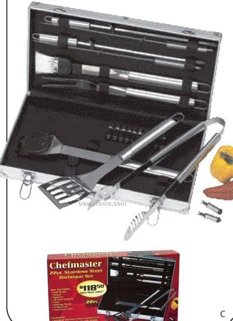 Harga Promo Handy Grill Brush chefmaster 19 pc barbeque set china wholesale chefmaster 19 pc barbeque set