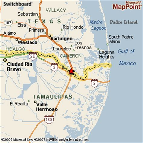 where is brownsville texas on the map brownsville texas