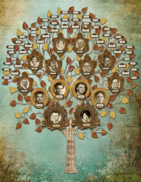 27 Best Creative Family Tree Genealogy And Family Trees Images On Pinterest Family Trees At Family Tree For Your Design