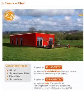 maison container la design 224 prix discount
