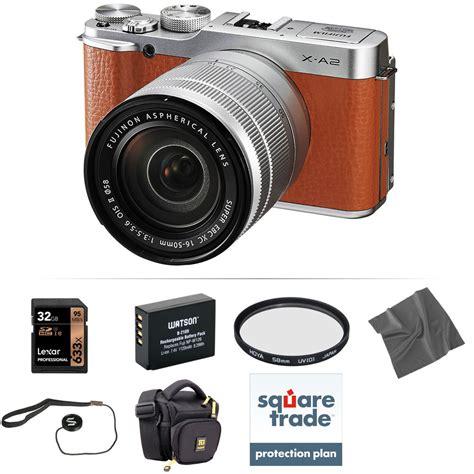 Kamera Fujifilm Miroless X A2 Kit 16 50 Mm fujifilm x a2 mirrorless digital with 16 50mm lens b h