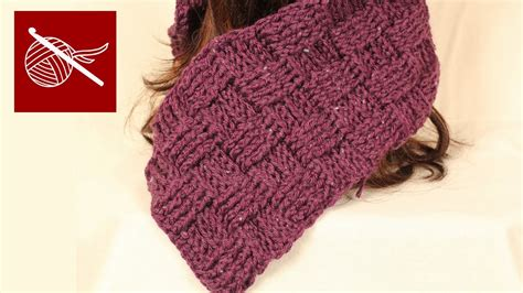 youtube tutorial crochet scarf how to make crochet basketweave scarf tutorial