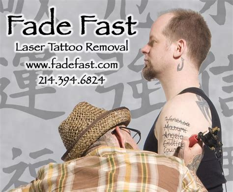 fade fast tattoo removal reviews fade fast laser removal dallas tx 75226 214 394