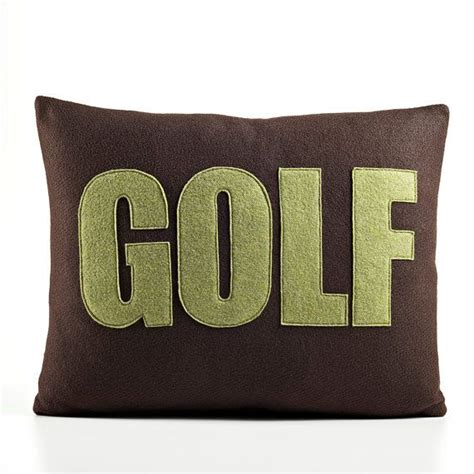 Golf Pillows by 1000 Images About Golf Pillows On Felt