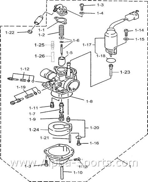 Kolt 90 Atv D 6 Carburetor 90cc