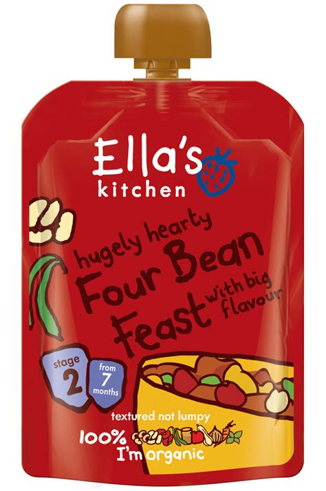 ella s kitchen four bean feast 130g ella s kitchen