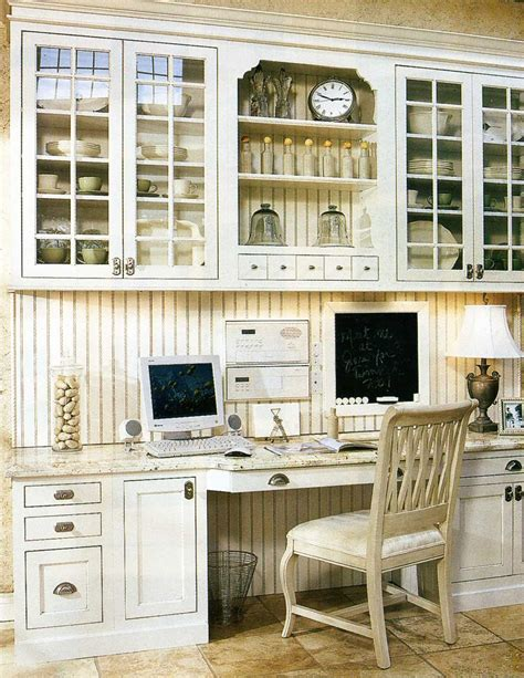 kitchen office organization ideas the decorated house may 2010