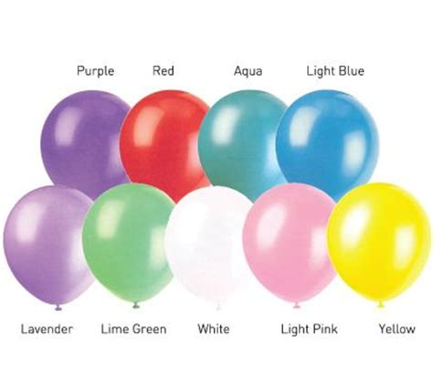 city balloon colors foil balloons in solid colors city
