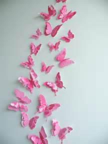 3d butterfly wall decor quot fancypants quot set felt