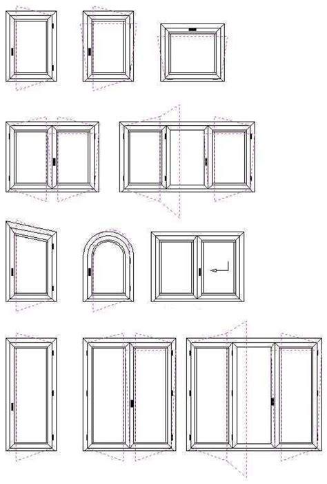 finestra mobile sezioni e misure infissi e serramenti legno massello