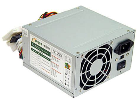 Power Supply Atx 500w Powerup logisys ps480d 480 watt atx pc power supply