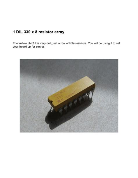 330 x 8 resistor array bourns resistor network 8 dil 28 images bourns resistor network 8 dil 28 images