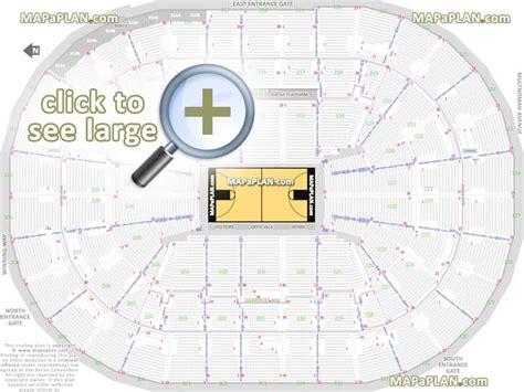 seating at moda center moda center garden arena seat row numbers