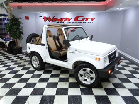 suzuki pickup interior suzuki samurai js suv soft top 5 speed low miles custom