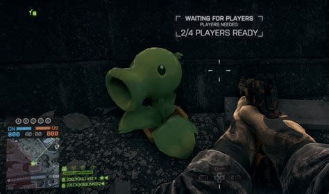 Plants Vs 4 plants vs zombies peashooter battlefield 4 easter eggs