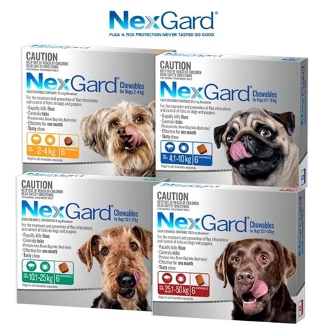 nexgard dog flea tick chewables