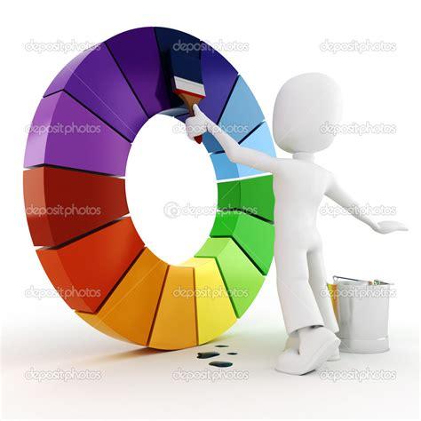 3d painting a color wheel stock photo 169 digitalgenetics 4282195