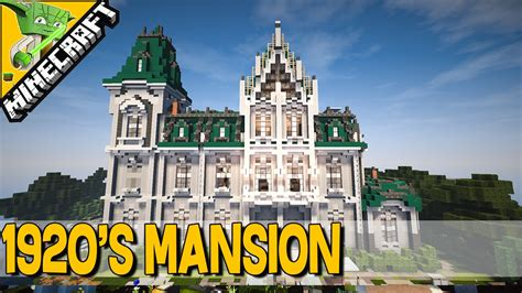 1920s mansion 1920 s mansion minecraft keralis inspiration series