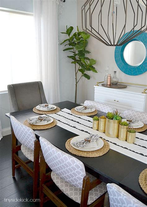 table runners for dining room table diy scallop sted table runner runners tables and dining rooms