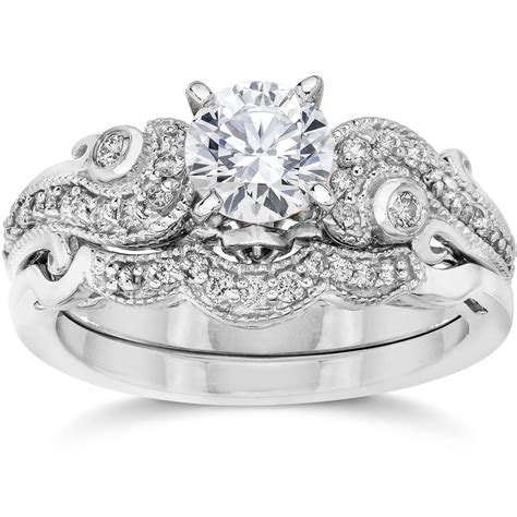emery 3 4ct vintage filigree engagement wedding