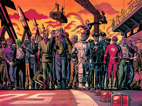 dc the new frontier comic artist darwyn cooke perfected the visual language of