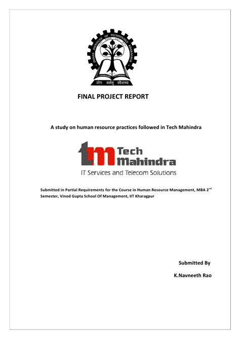tech mahindra webmail link how hr organization works quot an analysis of tech mahindra quot