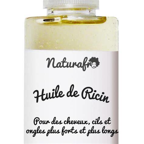 huile de ricin cheveux huile de castor pour les