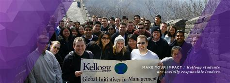 Kellogg Mba Tracks by Career Paths Social Impact Kellogg School