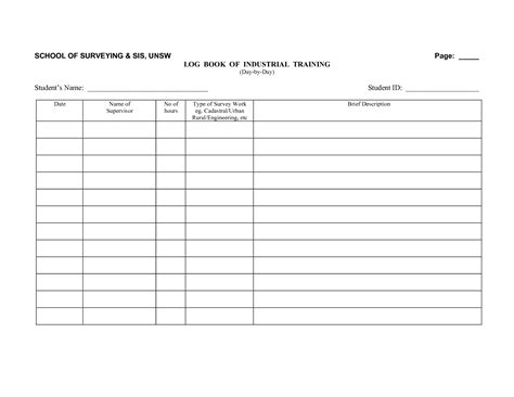driver log book template best photos of log book exles truck driver log book