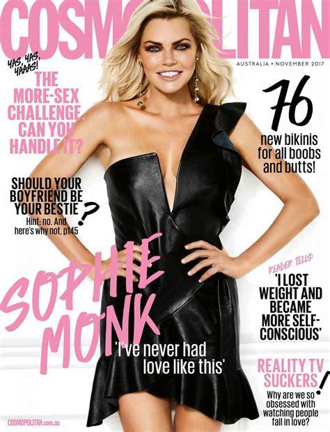 cosmopolitan magazine sophie monk archives hawtcelebs hawtcelebs