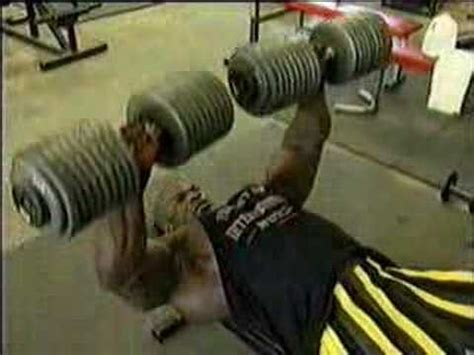 ronnie coleman bench bodybuilding ronnie coleman dumbell bench press youtube