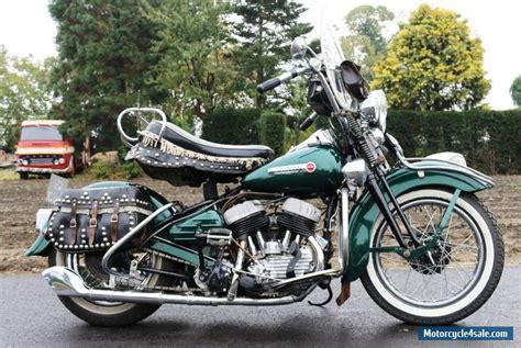 Dresser Motorcycle by 1948 Harley Davidson Wl750 For Sale In United Kingdom