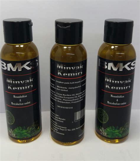 Minyak Kemiri Hitam jual bmks minyak kemiri merawat rambut pemutih surabaya