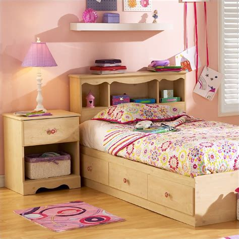 south shore bedroom furniture south shore furniture lily rose kids twin bed captain
