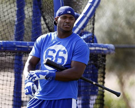 yasiel pug dodgers news koufax comments on how yasiel puig can improve dodgers nation