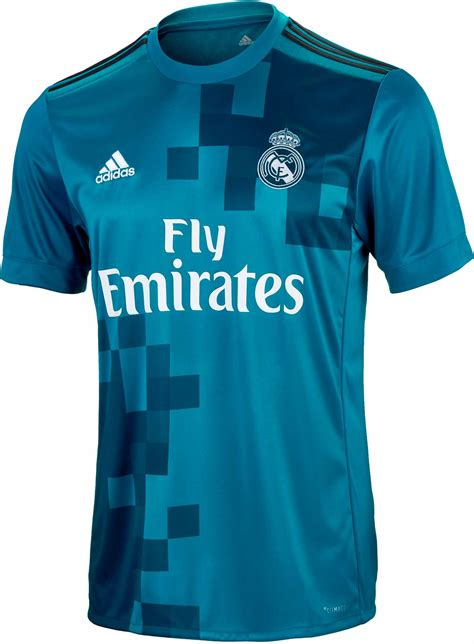 Jersey Real Madrid 3rd adidas real madrid 3rd jersey 2017 18 ns soccerpro