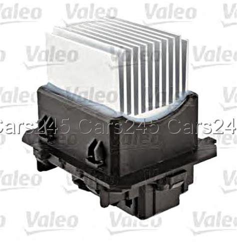blower motor resistor valeo peugeot 508 2011 heater blower motor resistor speed regulator valeo ebay
