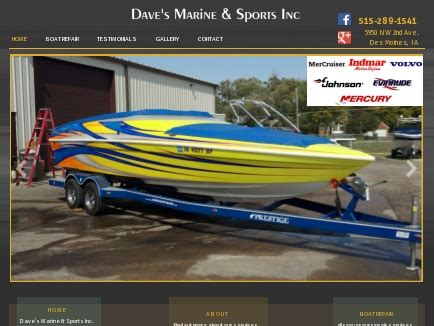 boat service des moines dave s marine sports inc boat repairs des moines ia
