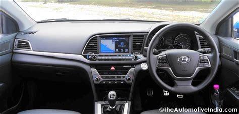 Hyundai Elantra Dashboard Hyundai Elantra 2016 Review Pictures The Elan Choice
