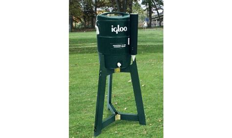 Water cooler holder folding tripod stand kirbybuilt products